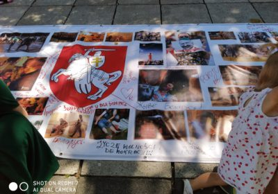 Solidarni z narodem Białorusi