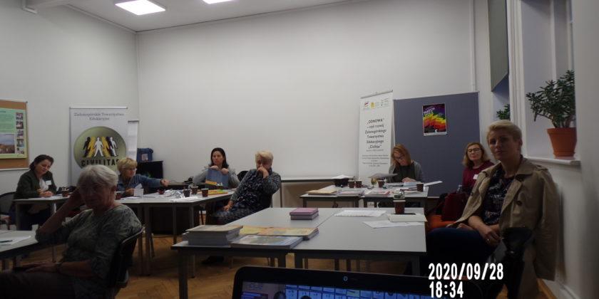 Informacja o  realizacji I części programu: SYNERGIA – wsparcie uczniów obcojęzycznych w polskiej szkole w 2020 r.